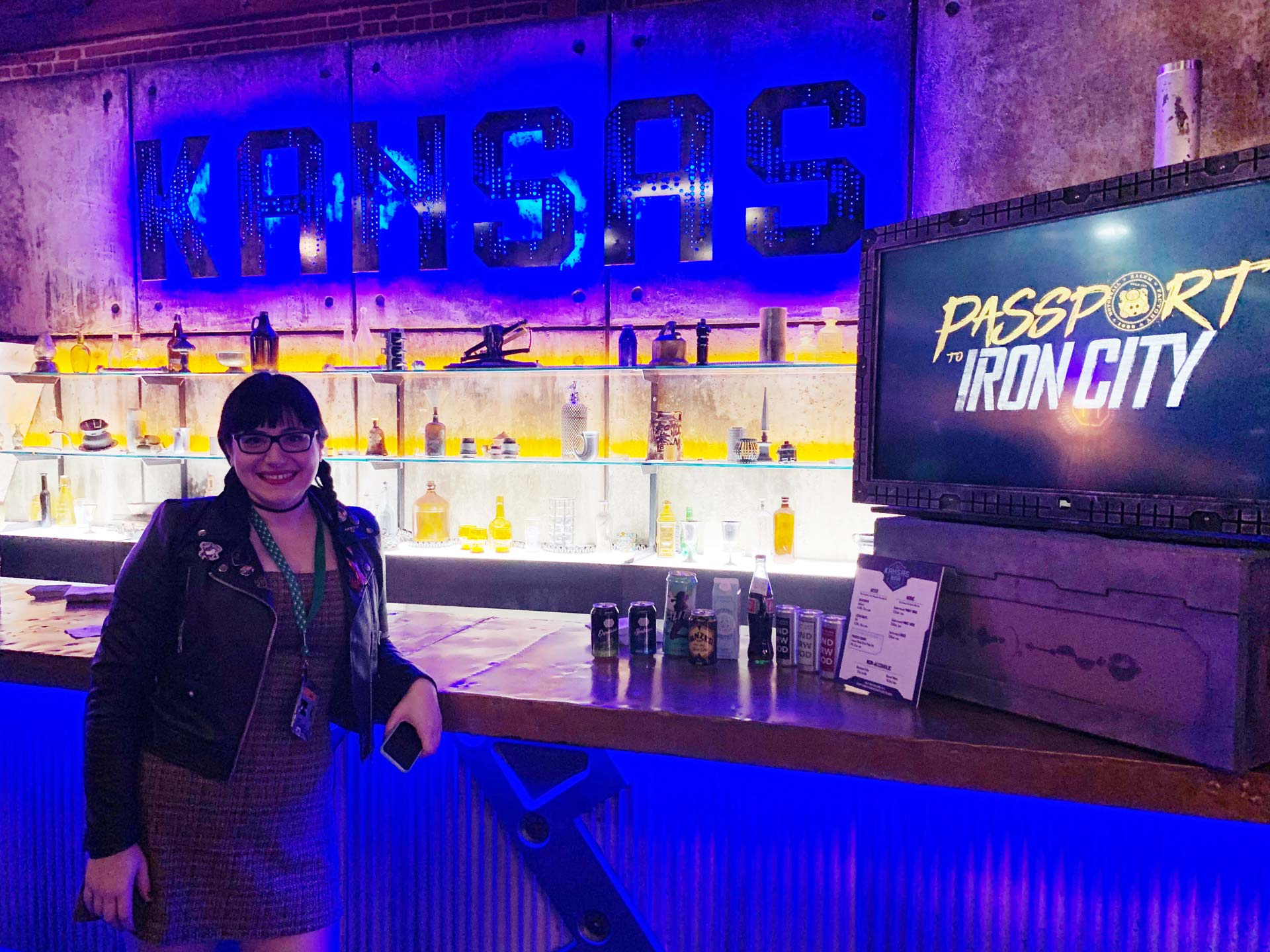 LATIN HORROR's Jennifer E. Ortega at Iron City's KANSAS Bar. Photo: Rick Hong.