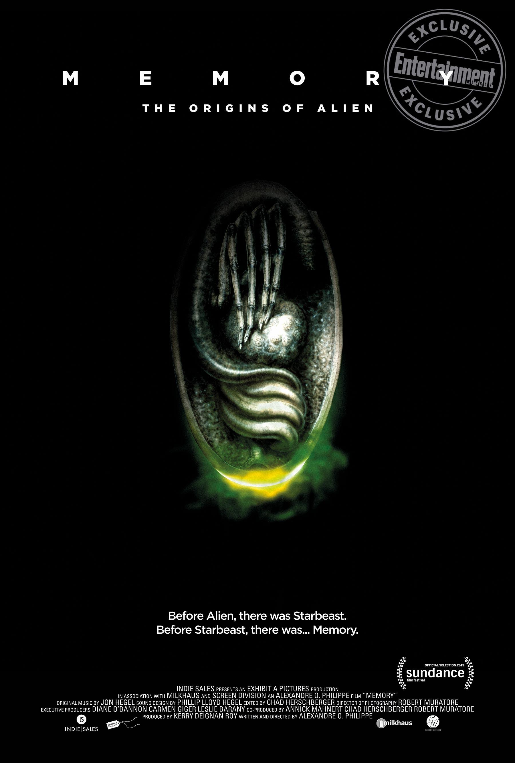 'Memory: The Origins of Alien' - Poster