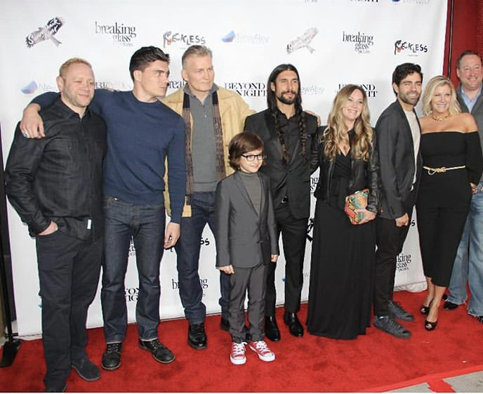"""Breaking Glass Pictures' """"Beyond The Night"""" Premiere - Red Carpet. Photo: Jennifer Ortega."""