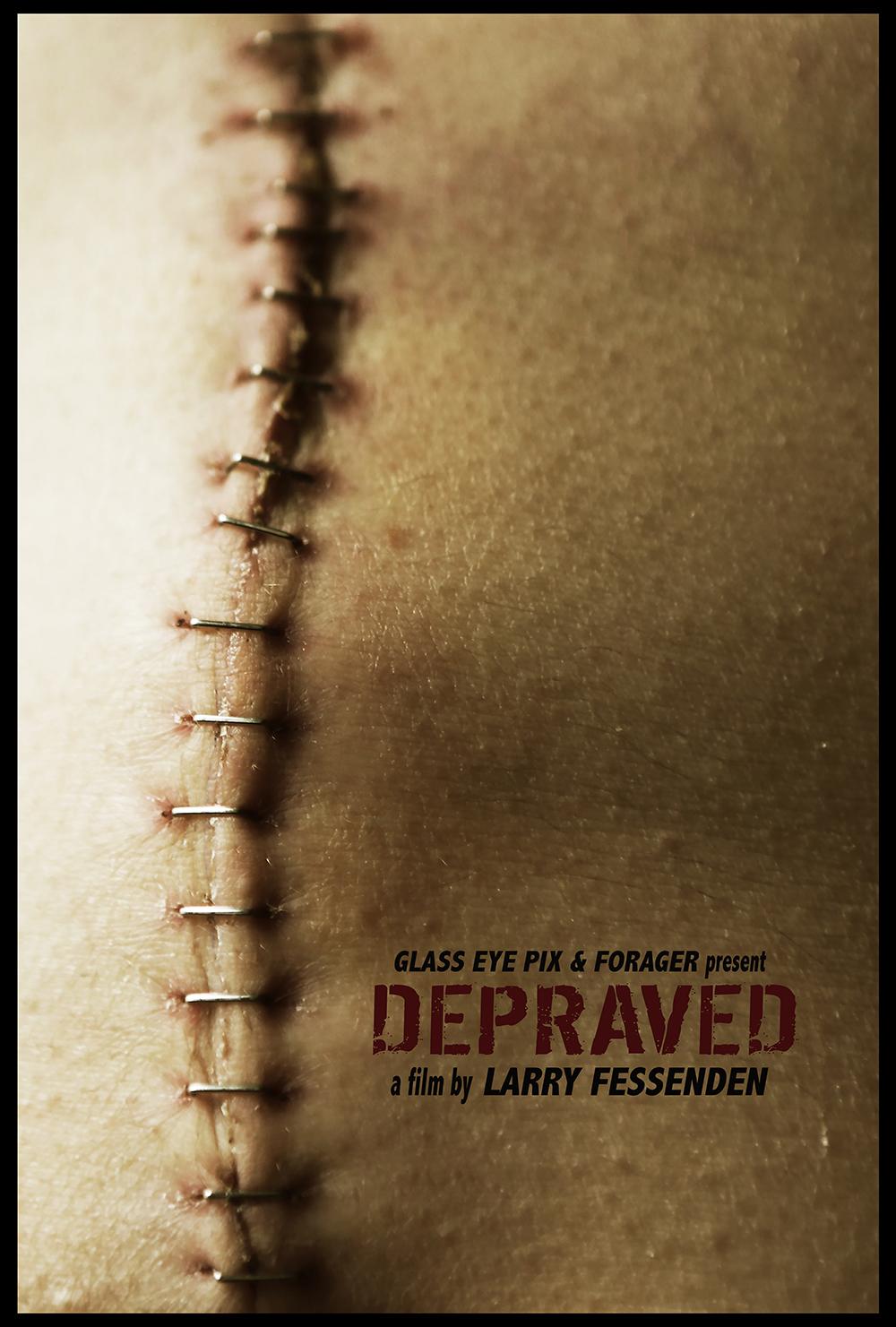 Poster Larry Fessenden's 'DEPRAVED'