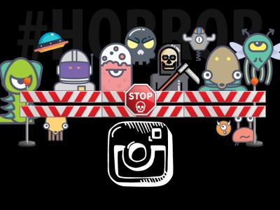 Instagram Censors #HORROR